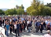 Ankarada ki patlama Selçukta protesto edildi (17)