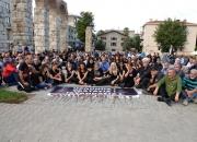 Ankarada ki patlama Selçukta protesto edildi (2)