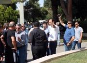Ankarada ki patlama Selçukta protesto edildi (21)