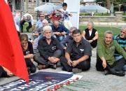 Ankarada ki patlama Selçukta protesto edildi (4)