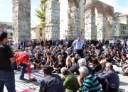 Ankarada ki patlama Selçukta protesto edildi (8)