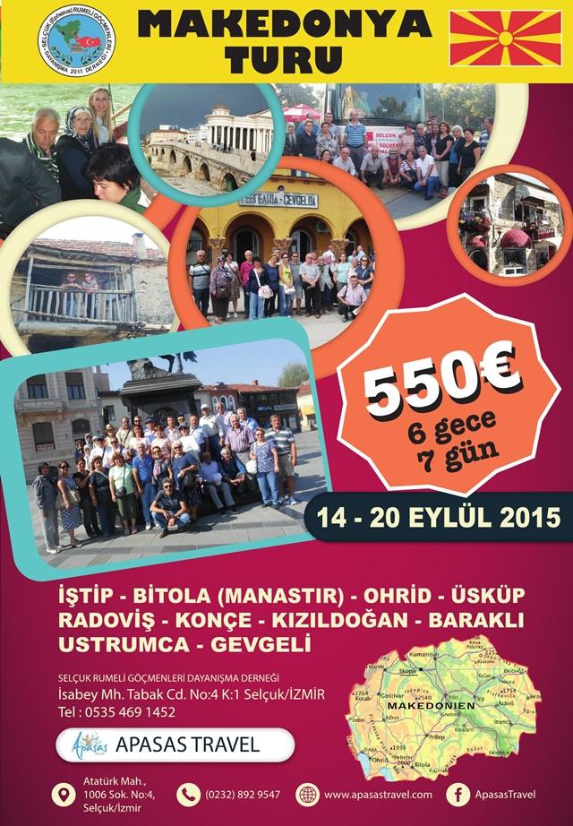 Balkanlar-Makedonya Turu