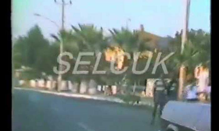 1988 YILI SELCUK IZMIR Yolundan görüntüler