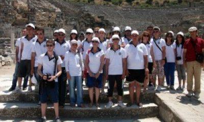 Şehit ve Gazi Çocuklarına Efes'te Büyük Ayıp
