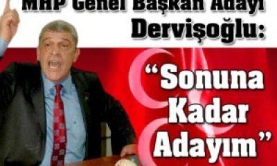 MHP Genel Başkan Adayı Dervişoğlu İzmir İl Teşkilatını Ziyaret Etti