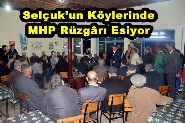 Selçuk'un Köylerinde MHP Rüzgârı Esiyor