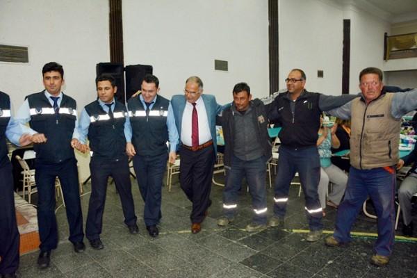 Selçuk Belediye Personeli 1 Mayıs'ı Kutladı
