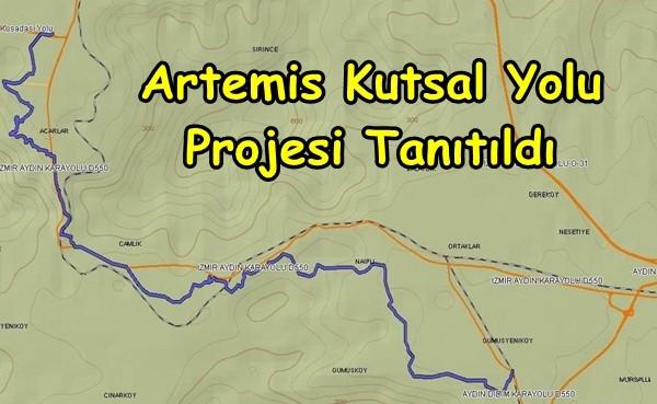 Artemis Kutsal Yolu Projesi Tanıtıldı