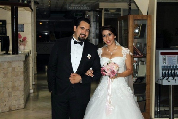 Demet ve Ömer Orkun Düztaş Hitit Hotel de Evlendi