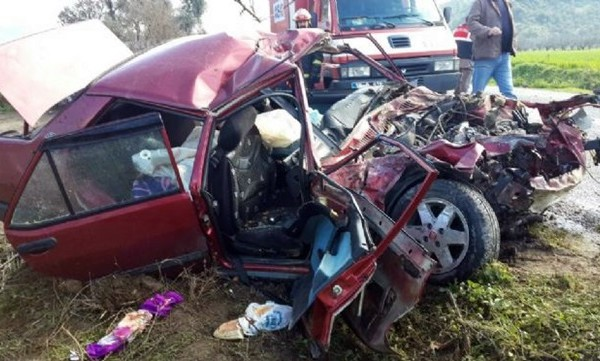 Ölüm Yolunda kaza: 1 Kişi Öldü