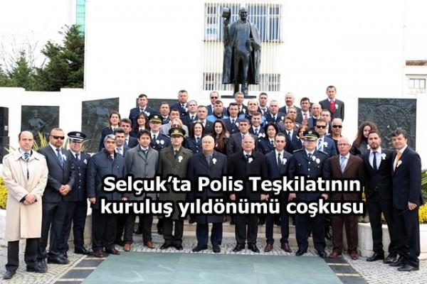 Selçuk'ta Polis Teşkilatının kuruluş yıldönümü coşkusu