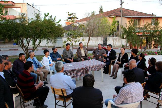Tacettin Bayırın Menderes Köylerine Ziyareti (4)