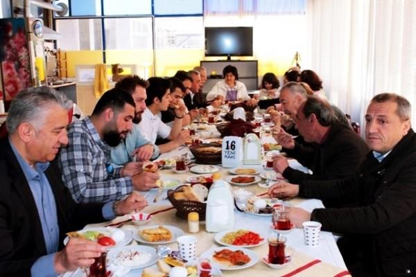 Kent Konseyi Kahvaltıda Buluştu
