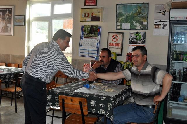 CHP İlçe Örgütünden Gökçealan Ziyareti (3)