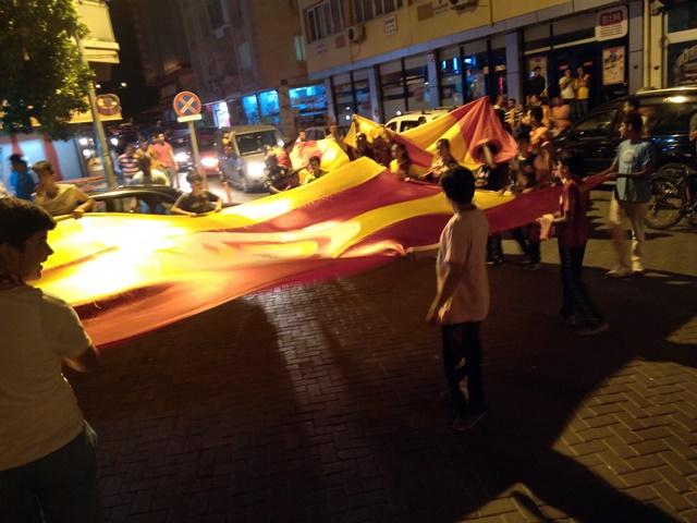 Galatasaraylıların şampiyonluk coşkusu (1)