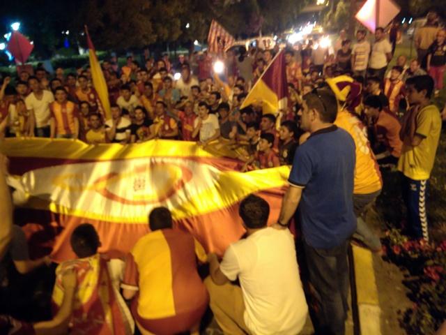 Galatasaraylıların şampiyonluk coşkusu (3)