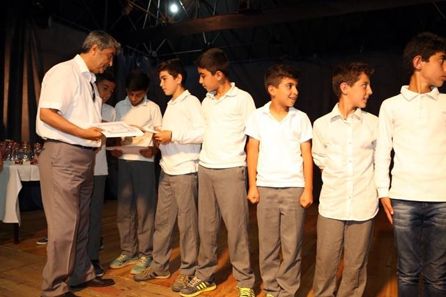 Selçukun sporda başarılı öğrencileri ödüllerini aldı (3)