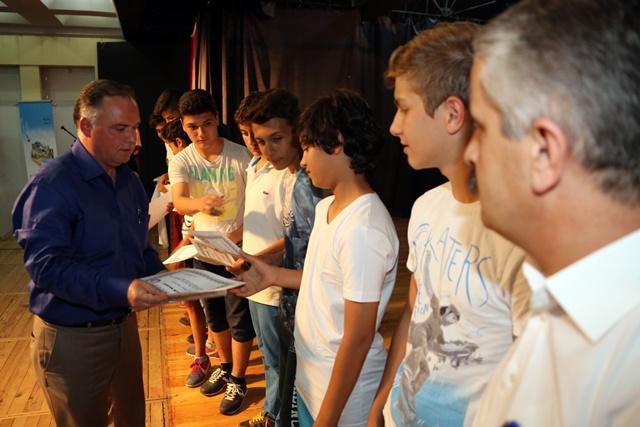 Selçukun sporda başarılı öğrencileri ödüllerini aldı (4)