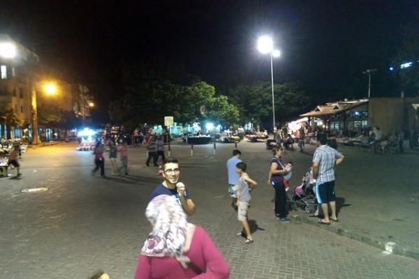 İlk gece pazarı boş geçti