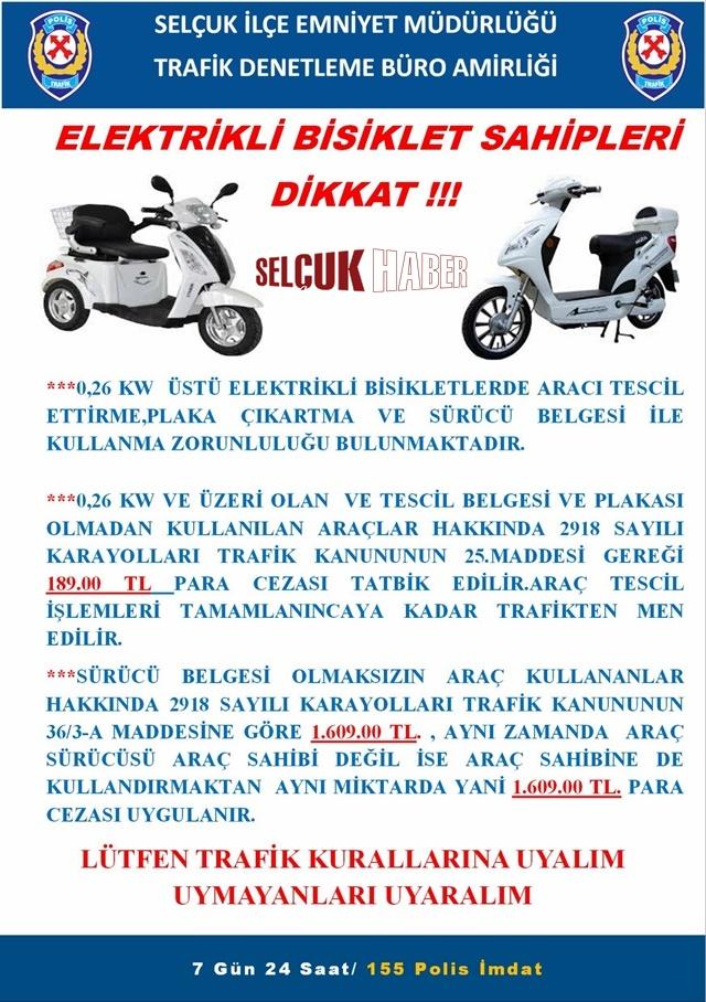 ELEKTİRKLİ BİSİKLET