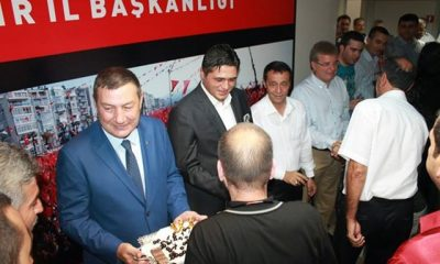 MHP İzmir'de 2 yeni vekille bayramlaşma