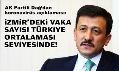 AK Partili Dağ'dan koronavirüs açıklaması: İzmir'deki hasta sayısı Türkiye ortalamasında!