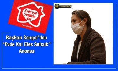 "Başkan Sengel'den ""Evde Kal Efes Selçuk"" Anonsu"