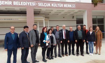 İYİ Parti İlçe Başkanlığından Alevi Kültür Dernekleri Şubesine Ziyaret