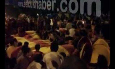 Galatasaray Şampiyonluk Kutlamaları(Selçuk)