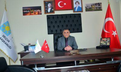 İYİ Parti Selçuk İlçe Başkanı istifa etti