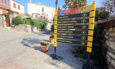 Efes Selçuk'ta Tabela Devrimi