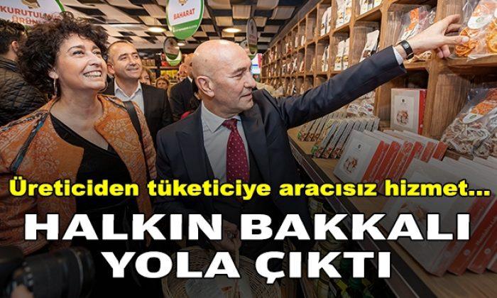 Üreticiden tüketiciye aracısız hizmet: İzmir'de 'Halkın Bakkalı' yola çıktı